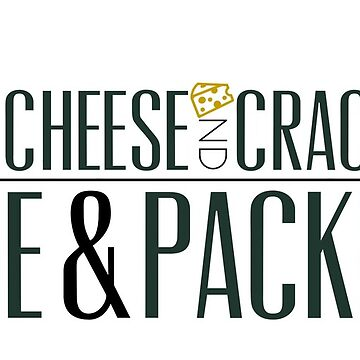 Cheese and Crackers Wine and Packers by TheDFDesigns