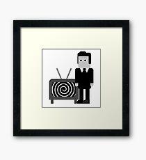 Horror Icons - Rod Serling Framed Print