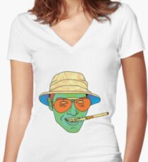 Duke (Fear and Loathing in Las Vegas) Women's Fitted V-Neck T-Shirt