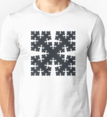 Cesàro Fractal - Square Filled 2 Unisex T-Shirt