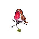 Christmas Robin  by Linda Callaghan
