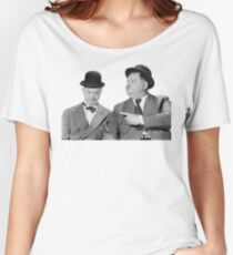 Laurel and Hardy Women's Relaxed Fit T-Shirt