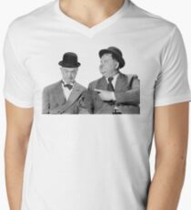 Laurel and Hardy Men's V-Neck T-Shirt