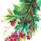 Christmas Holly by Linda Callaghan