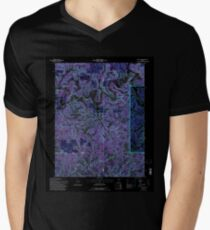 USGS TOPO Map Indiana IN Hillham 159947 1993 24000 Inverted T-Shirt