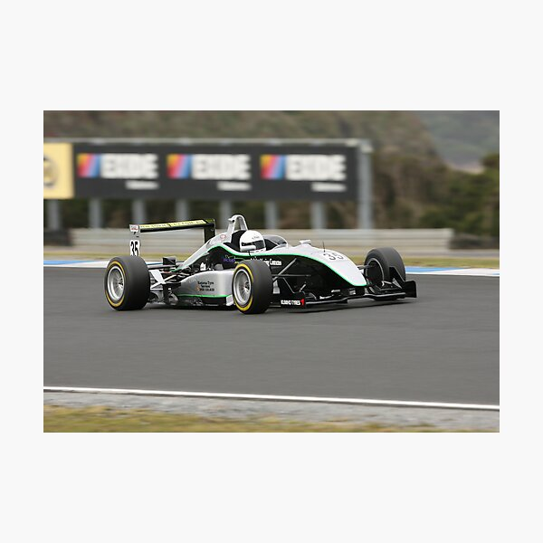 F3 flat out Photographic Print
