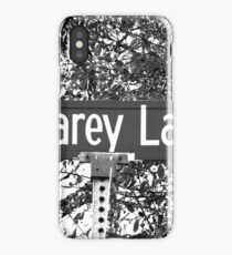 A Street Sign Named Scarey iPhone Case/Skin