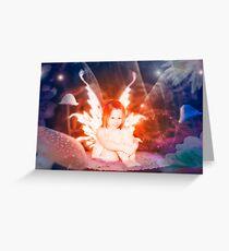 The garden fairy Greeting Card