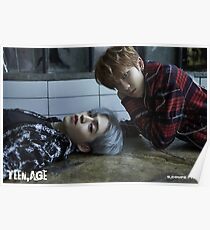 Seventeen S. Coups and The8 Teen, Age Poster