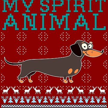 My spirit animal is a Daschund, dachshund by bestdesign4u