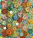 Vintage Buttons by Karin Taylor