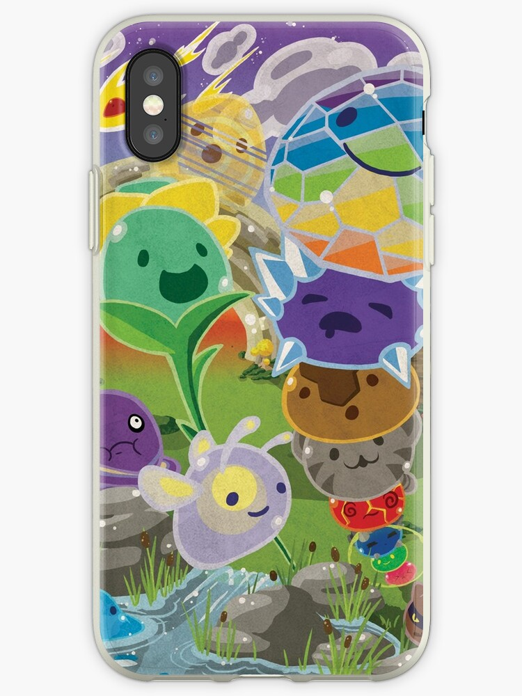 'Slime Rancher All Slimes Collection' iPhone Case by PaisleyPortrait