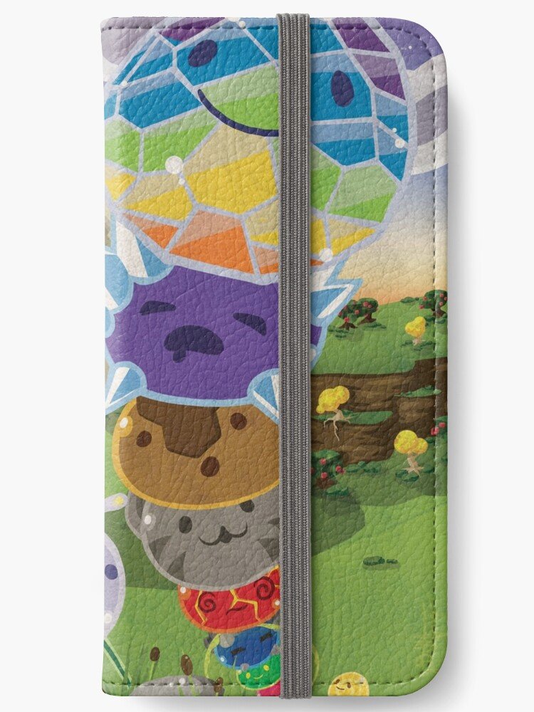 'Slime Rancher All Slimes Collection' iPhone Wallet by PaisleyPortrait
