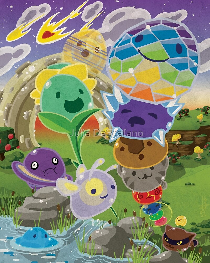 Slime Rancher All Slimes Collection