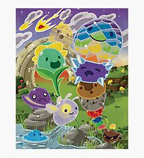Slime Rancher All Slimes Collection Photographic Print