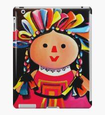 Mexican Maria Doll Black iPad Case/Skin