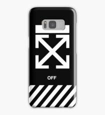 off white Samsung Galaxy Case/Skin