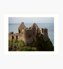 Dunluce Castle, Co Antrim Art Print