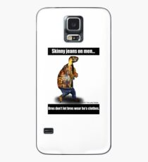 Skinny Jeans - Bros don't let bros wear ho's clothes Case/Skin for Samsung Galaxy