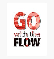 Go with the Flow Photographic Print