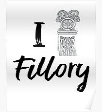 I (Clock) Fillory Poster
