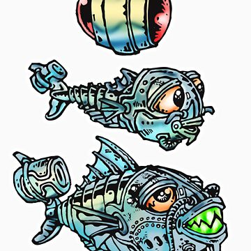 CYBORG FISH by rodi