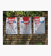 Red, White and True Photographic Print