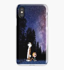 tiger hobbes dreams iPhone Case/Skin