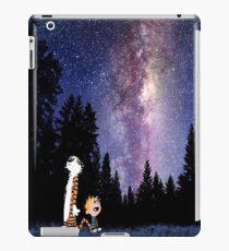 tiger hobbes dreams iPad Case/Skin