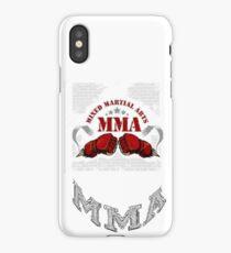 MIXED MARTIAL ARTS  MMA iPhone Case/Skin