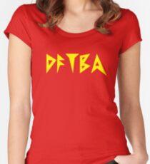 DFTBA Women's Fitted Scoop T-Shirt