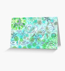Layer Upon Layer # 3 Greeting Card