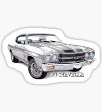 '69 CHEVY CHEVELLE SS 454 Sticker