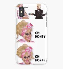 KATYA AND TRIXIE OH HONEY iPhone Case/Skin