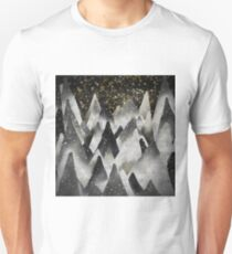 Winter Landscape in the Mountains at Night Unisex T-Shirt