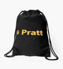 Pratt Institute Schwarz Turnbeutel