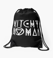 Witchy Woman Drawstring Bag