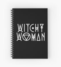 Witchy Woman Spiral Notebook