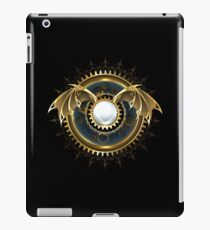 Mechanical Dragon Wings with a Lens ( Steampunk wings ) iPad Case/Skin