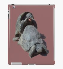 Geeky Male Tortoise Mating iPad Case/Skin