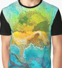 Island of Ink Graphic T-Shirt