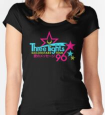 Three Lights Sailorstars Tour '96 Women's Fitted Scoop T-Shirt