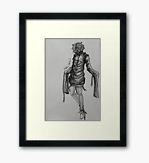 Psycho mantis mgsv Framed Print