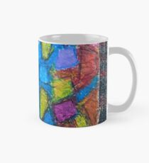 Stained glass cubism Mug