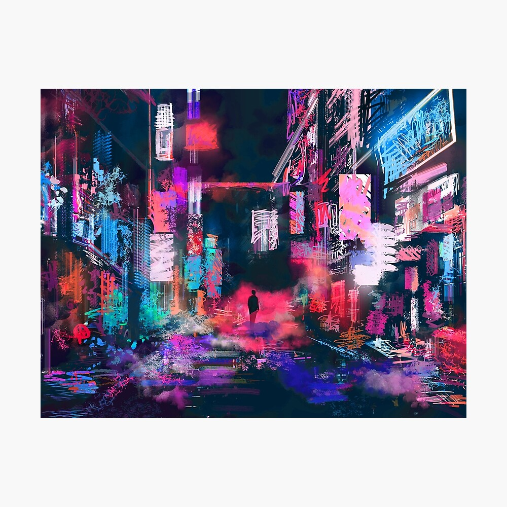 Hypernight Photographic Print