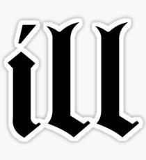 Illmatic Nas Sticker