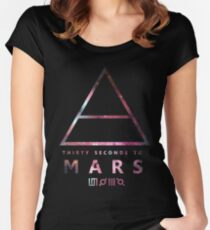 30 Seconds To Mars Universal Women's Fitted Scoop T-Shirt