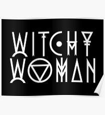 Hexerische Frau Poster