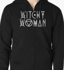 Witchy Woman Zipped Hoodie