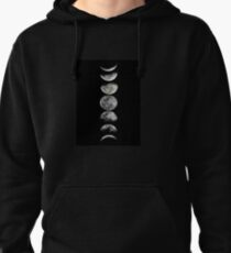 Phases of  the Moon Pullover Hoodie